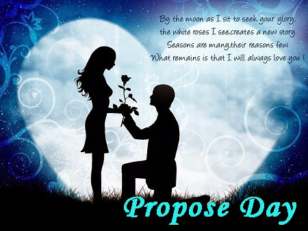 Happy Propose Day SMS to your boyfriend, Girlfriend, Wife and husband. And make your love feel more special