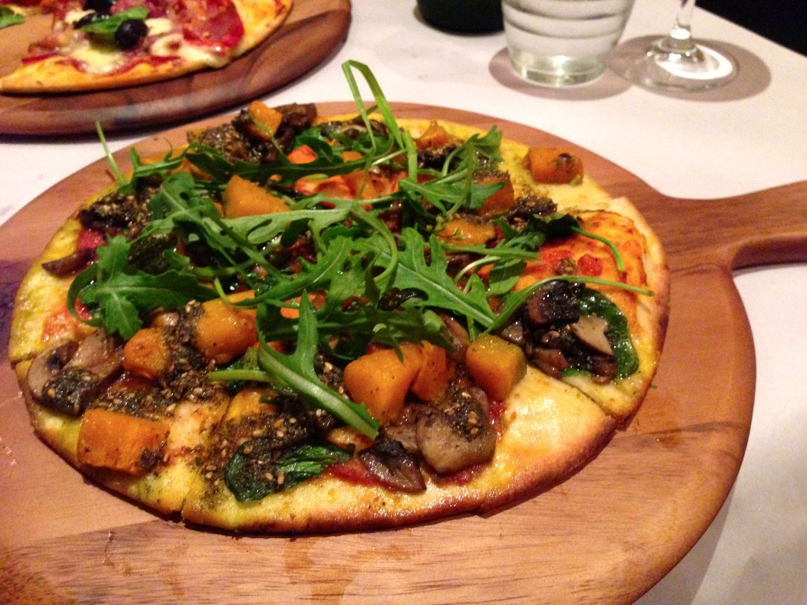 Pumpkin and Zaatar Pizza - Jimmies, Crafers