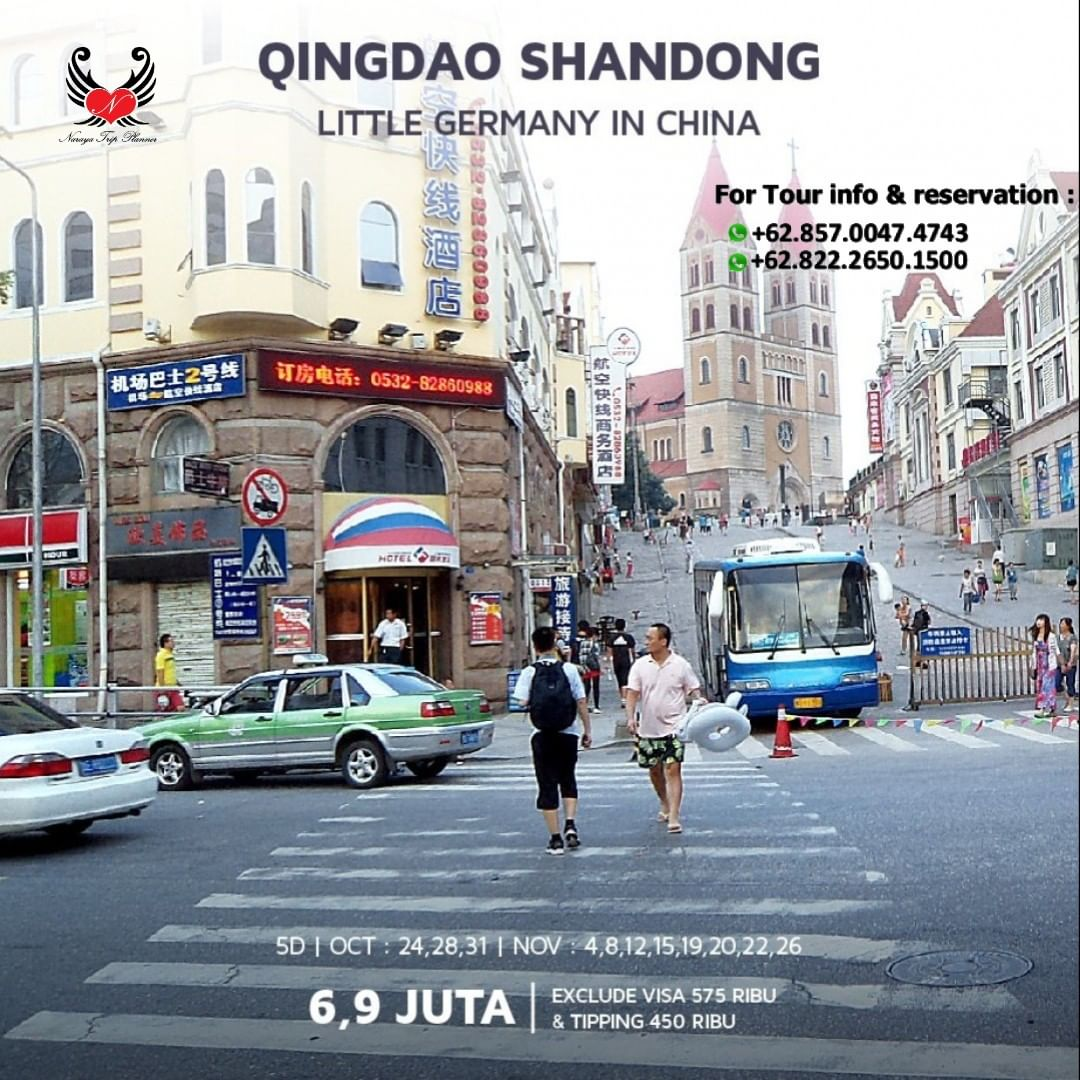 Paket Wisata ke Qindao Shandong China