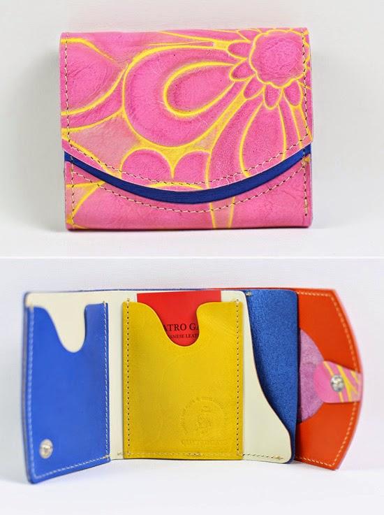 小さい財布ネジバナ