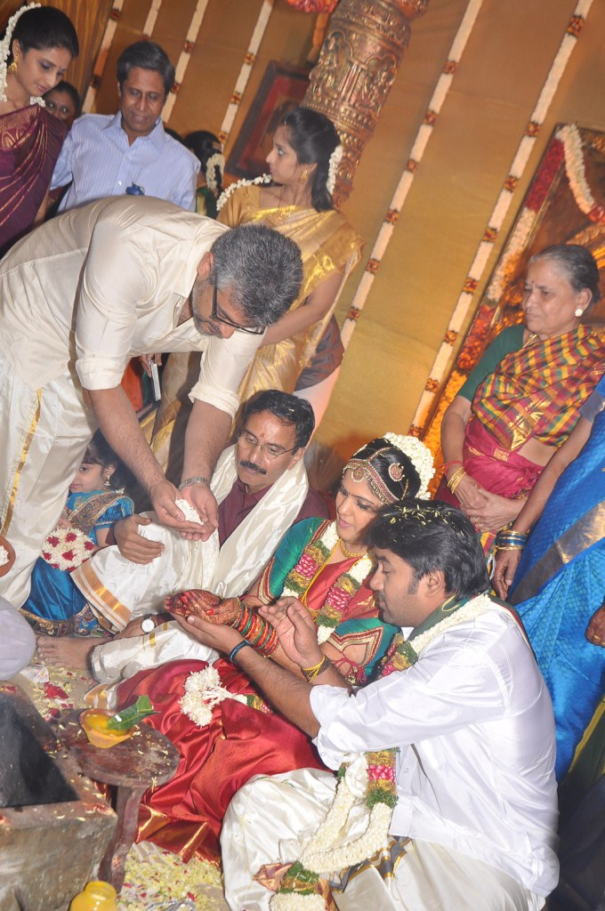Ajith In Actor Shiva Marriage Stills