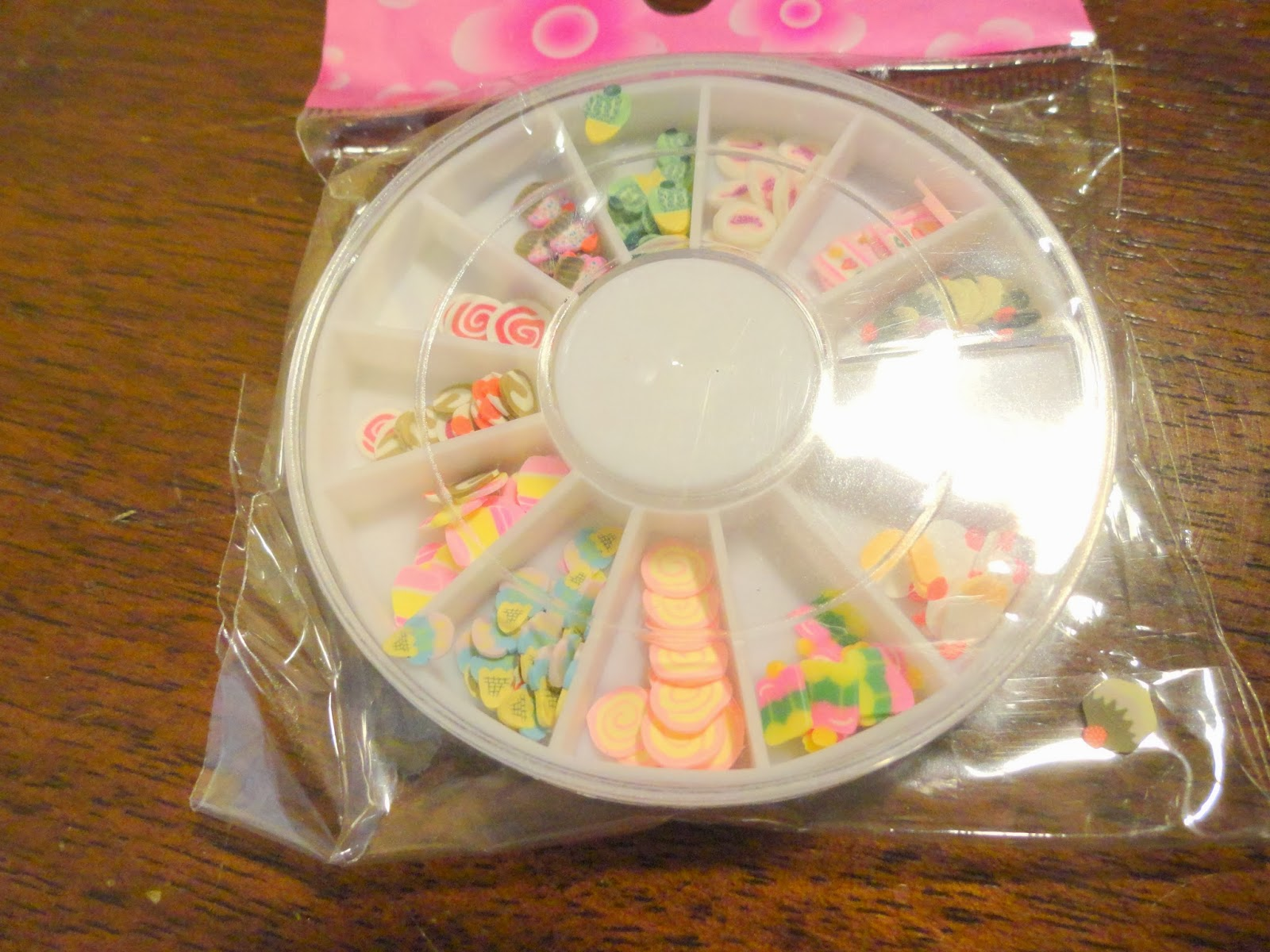 Clothes & Dreams: Ebay nail art shoplog: sliced candy fimo for nail art
