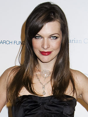 Milla Jovovich Screensaver