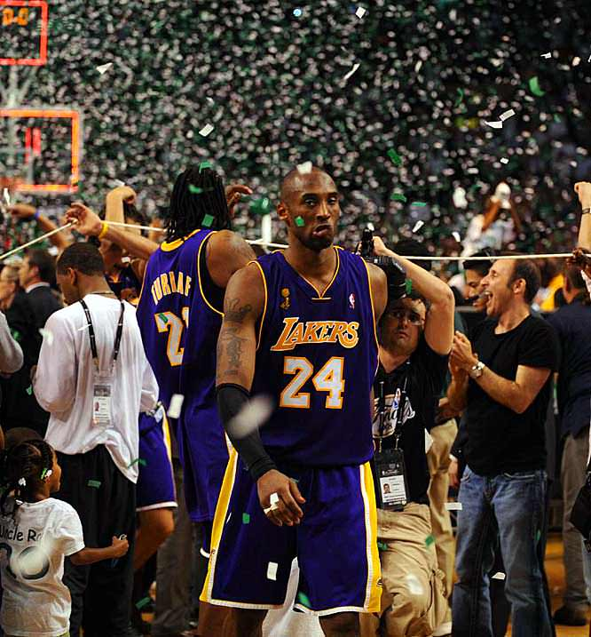 Lakers lost in 2008 NBA Finals
