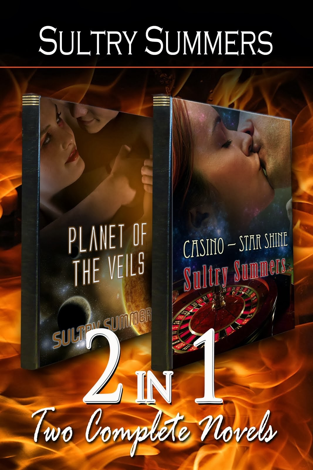 Mega-Book - Planet Of The Veils & Casino - Star Shine