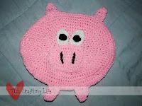 Oval Pig Trivet
