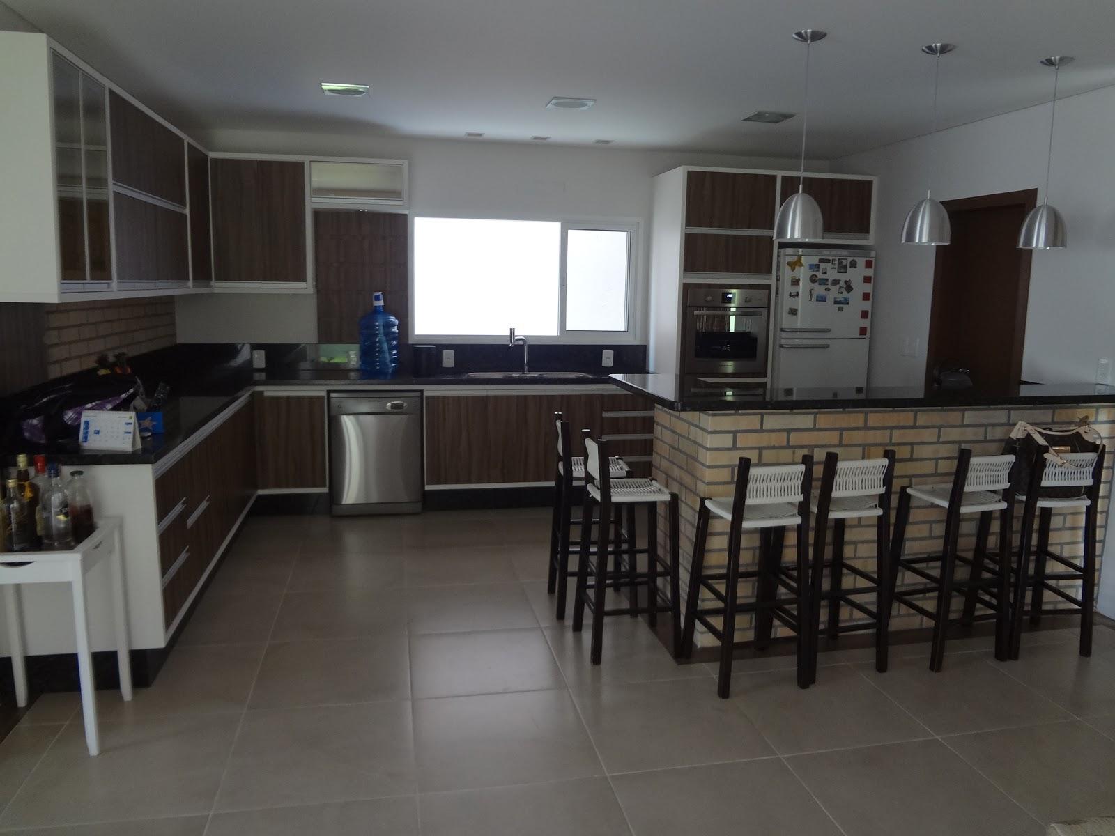 Silvano Moveis: Cozinha (nogal   branco). #464E5A 1600 1200