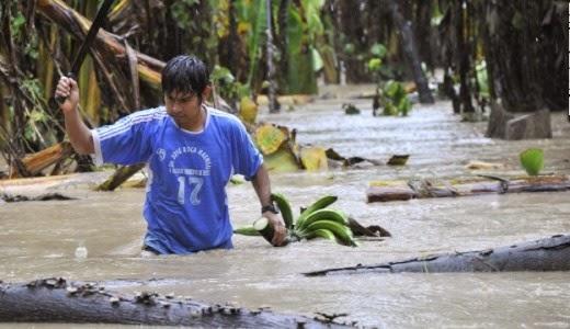 MAS DE 10 MIL EVACUADOS EN EL OESTE DE BRASIL POR GRAVES INUNDACIONES, 01 de marzo 2014