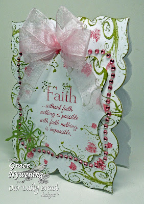 Our Daily Bread Designs Stamps Flowering Faith