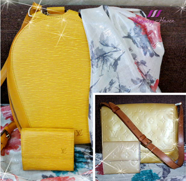 louis vuitton epi leather monogram vernis bags collection