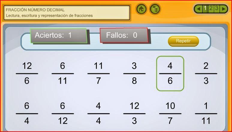 http://www.juntadeandalucia.es/averroes/carambolo/WEB%20JCLIC2/Agrega/Matematicas/Fraccion_y_numero_decimal-CONTENIDOS/contenido/mt10_oa02_es/index.html