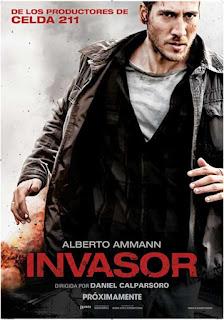 Cartel de la película Invasor, protagonizada por Alberto Ammann