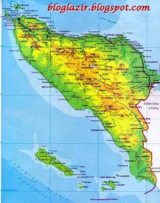 Gambar Peta Provinsi Daerah Istimewa Aceh