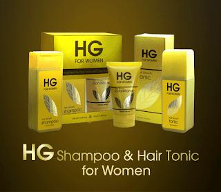 HG Shampoo & Hair Tonic untuk wanita