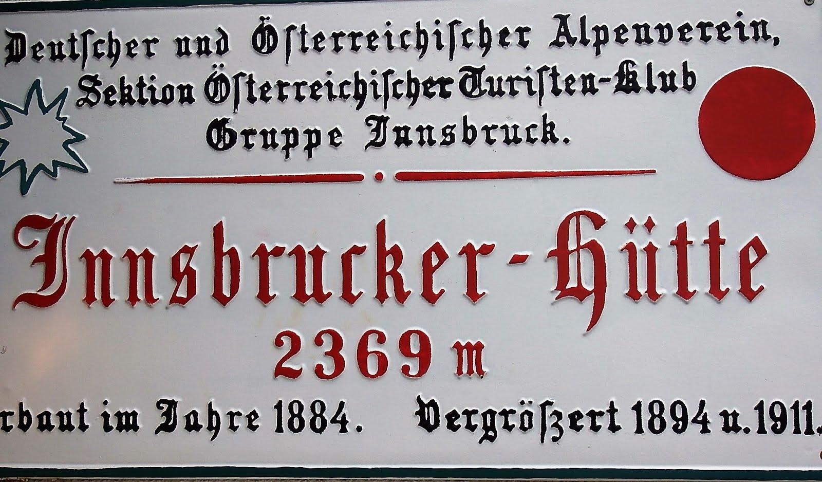 Innsbrucker hutte