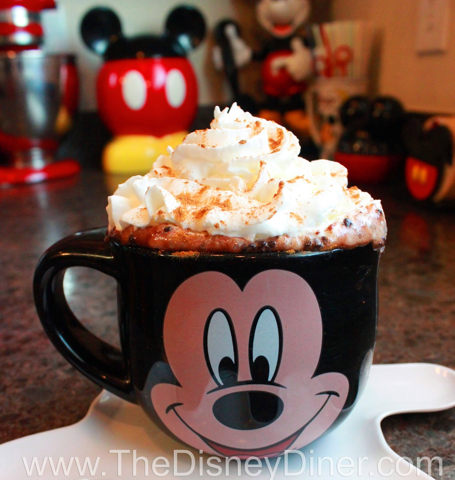 The Disney Diner: World's Best Hot Chocolate Recipe from Napa Rose ...