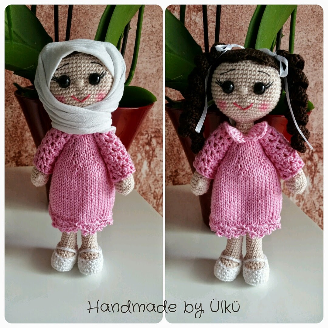 handmade by lk amigurumi puppe doll rg bebek. Black Bedroom Furniture Sets. Home Design Ideas