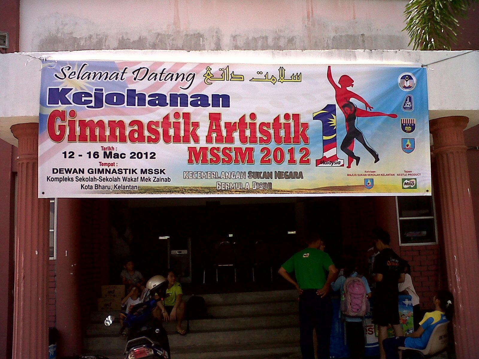 Usptn Kelantan Laporan Pemantauan Kej Gimnastik Artistik Mssm