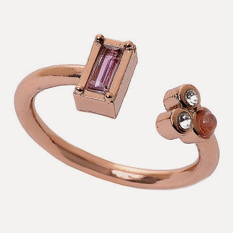 Juliet Ring in Hydro Pink