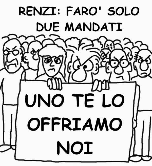 Renzi, proteste