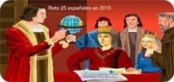 Reto 25 españoles 2o15