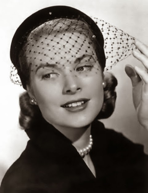 hair net - princess grace kelly of monaco style icon