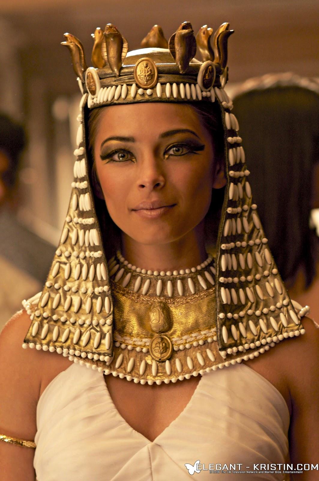 Kristin kreuk в роли великой клеопатры