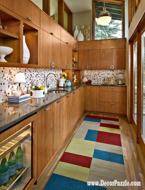 Mid Century Modern Kitchen Cabinets For Small Kitchens