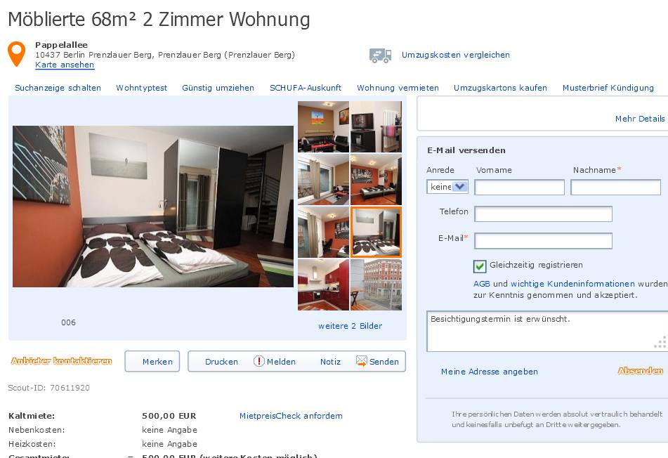 uncategorized informationen ber wohnungsbetrug seite 83. Black Bedroom Furniture Sets. Home Design Ideas