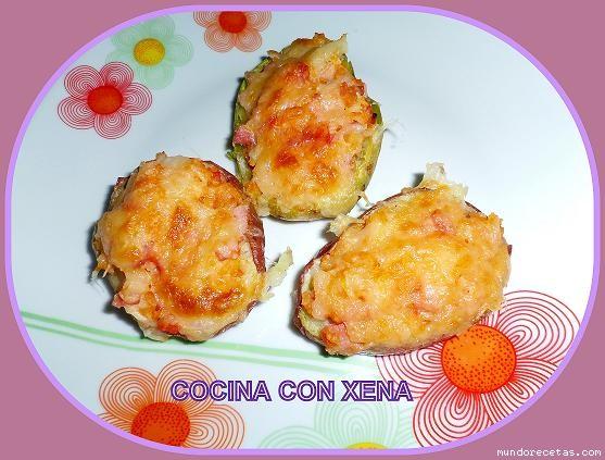 Recetas sencillas de cocina patatas rellenas al microondas for Cocina al microondas