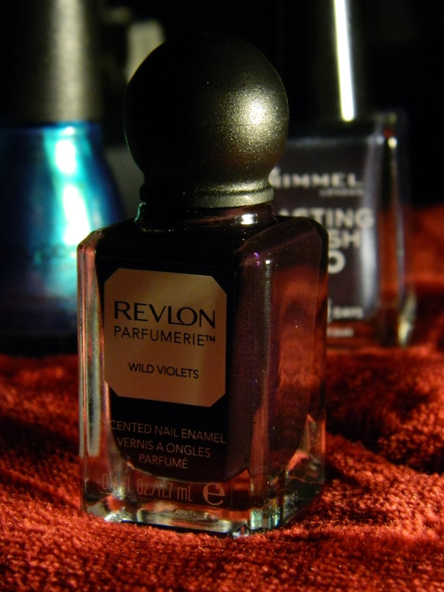 Revlon Parfumerie scented nail enamel in 150 Wild Violets - advertise your products here