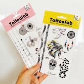 Tatouages temporaires pour Tattoofab