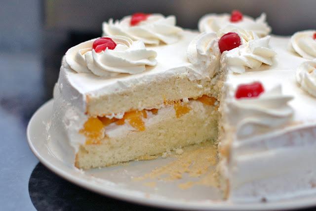 Light Fruit Birthday Cake Recipe Image Inspiration of Cake and