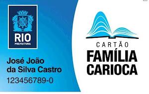 INFORMAÇÃO SOBRE O CARTÃO CARIOCA