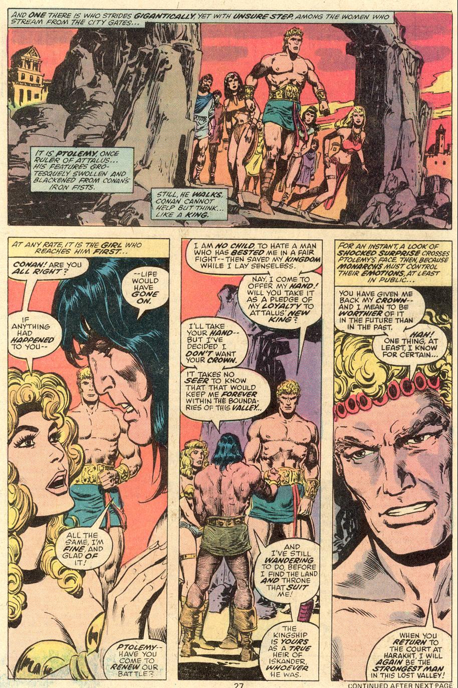 Conan the Barbarian (1970) Issue #81 #93 - English 16