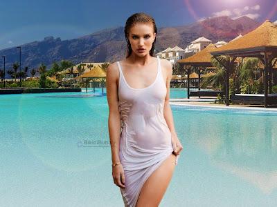 Rosie Huntington Whiteley Bikini pics