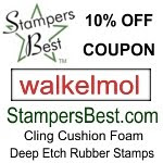 Stampersbest 10% off coupon