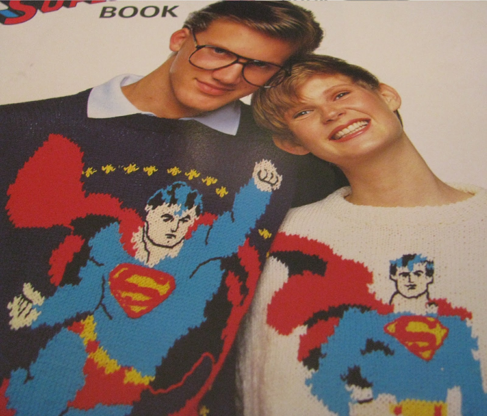 Knitting Pattern Batman Jumper : Shortbread & Ginger: Knit Your Own Superman ... (Jumper)
