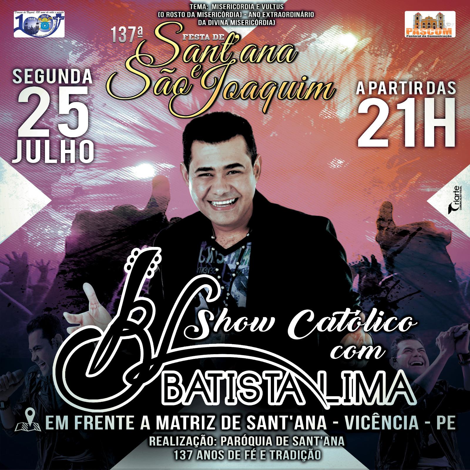 SHOW CATÓLICO - BATISTA LIMA