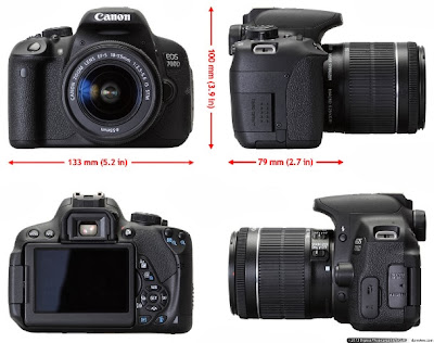Canon EOS Rebel T5i Best View