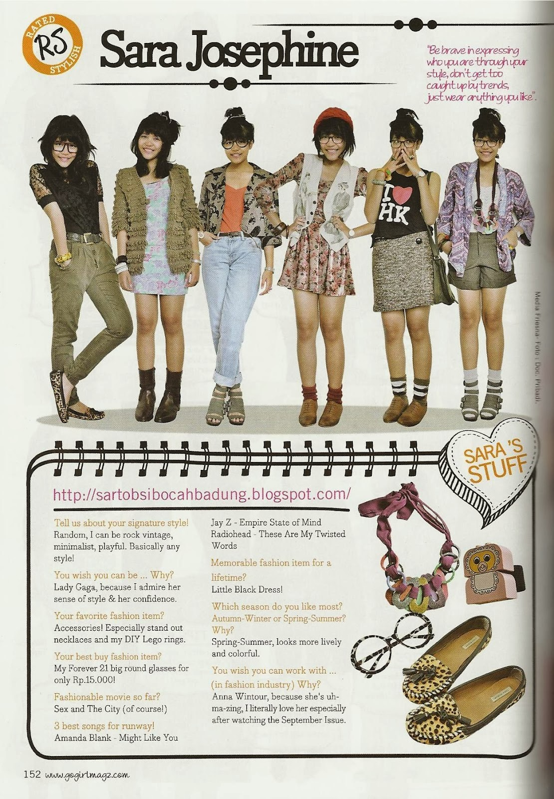 Gogirl Magazine Apr 2011