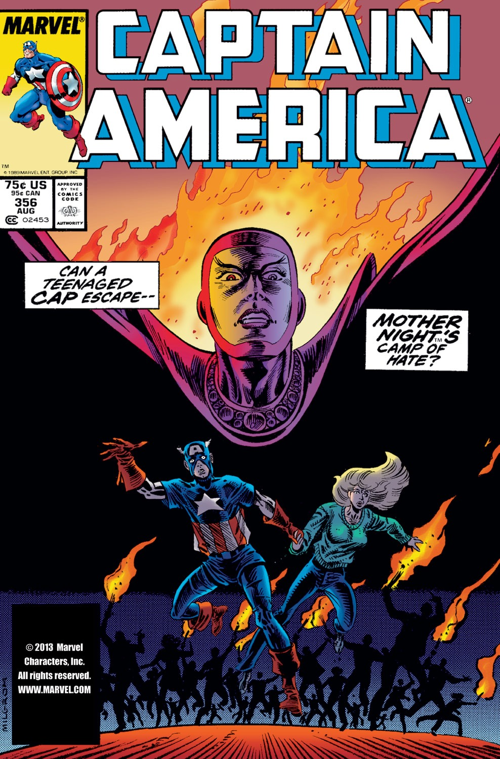 Captain America (1968) Issue #356 #289 - English 1