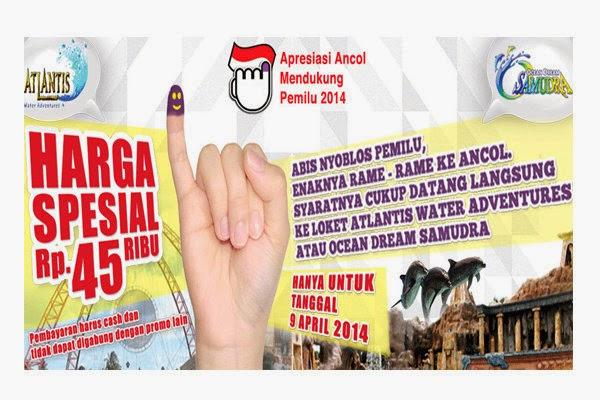 Promo Daftar Diskon Khusus Pemilu 2014