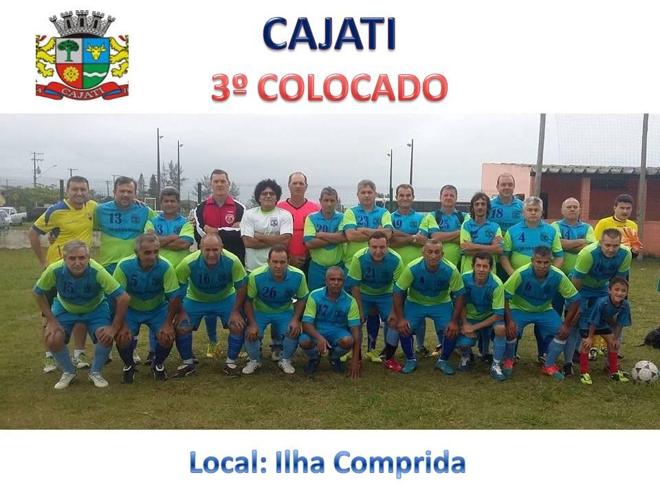 CAJATI - 3º COLOCADO