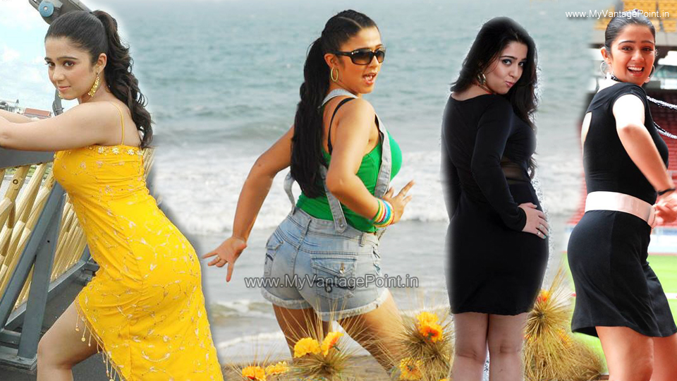 Charmi Kaur hot back in yellow dress, Charmi Kaur back in jeans short, Charmi Kaur in black dress, Charmi Kaur back in skirt, Charmi Kaur sexy figure