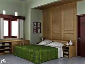 contoh interior ruang tidur desain rumah sederhana