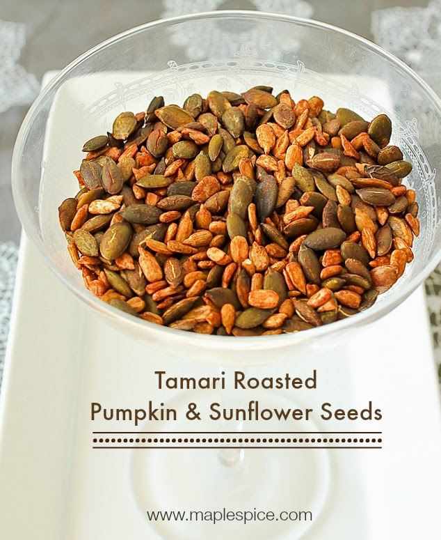 Tamari Roasted Pumpkin & Sunflower Seeds