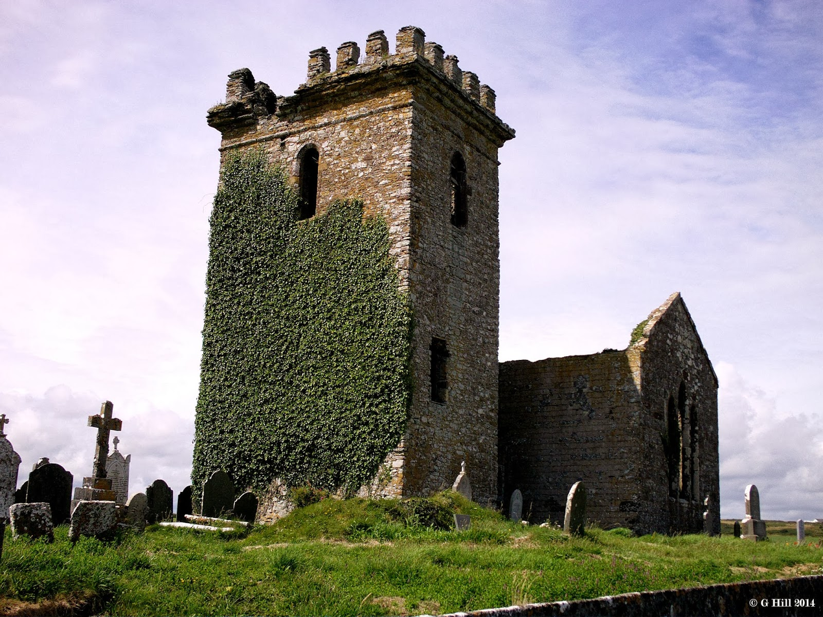 Ireland In Ruins  Old Templetown Church Co Wexford