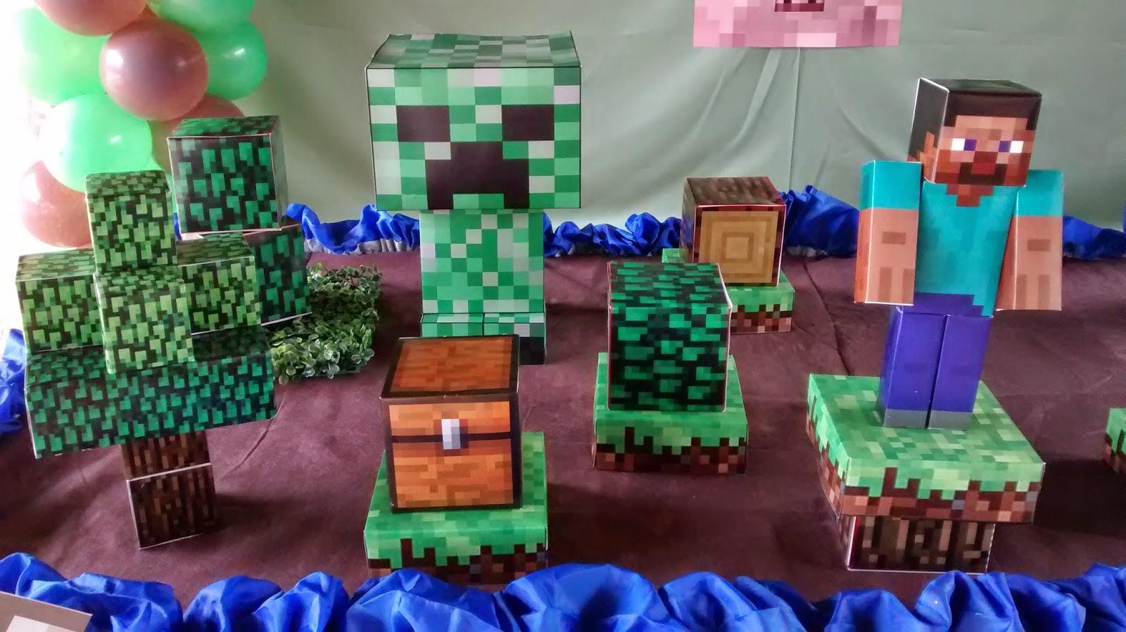Festas Boli Boli DECORAÇÃO MINECRAFT -> Decoracao De Banheiro No Minecraft