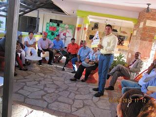 Abogados PLD presentan plancha no.2 para la seccional del CARD y realizan cena conferencia en San Cristóbal